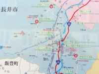長井市2014桜12置賜さくら回廊 案内板