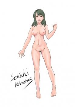 アザミの娘-Nude