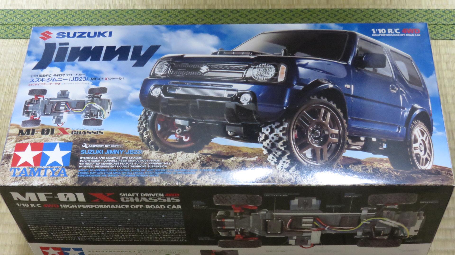 RC Suzuki Jimny JB23 - MF-01X 20150626_222848