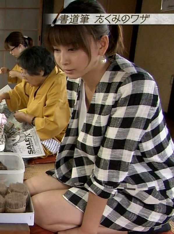 加藤夏希 太ももキャプ・エロ画像5