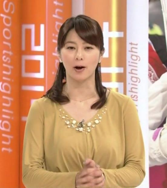 杉浦友紀 ゆったりした服を着ても隠せない爆乳キャプ・エロ画像2