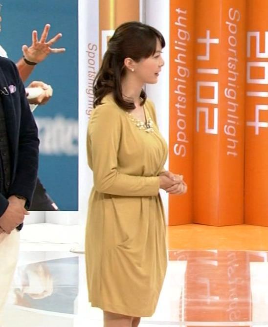 杉浦友紀 ゆったりした服を着ても隠せない爆乳キャプ・エロ画像5