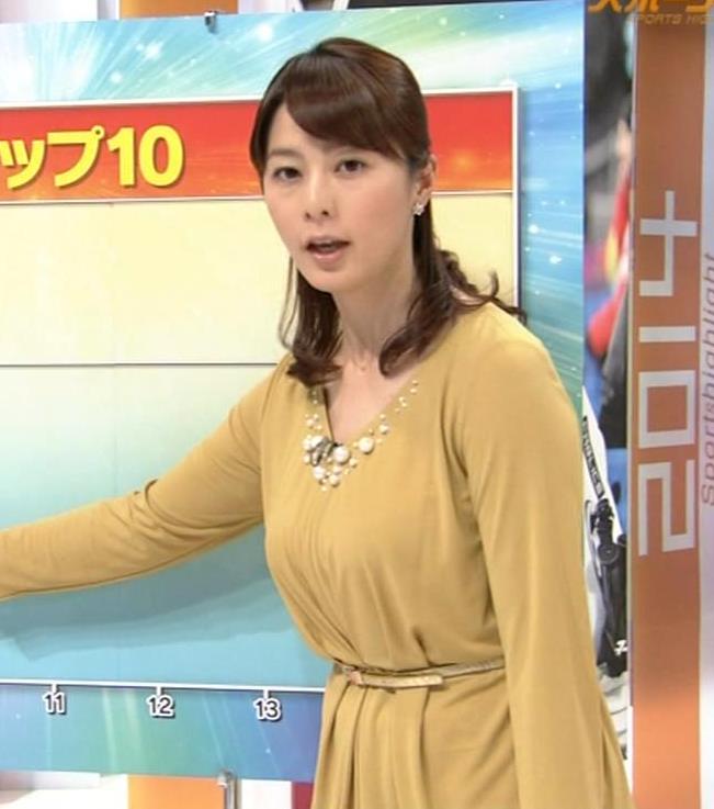 杉浦友紀 ゆったりした服を着ても隠せない爆乳キャプ・エロ画像8