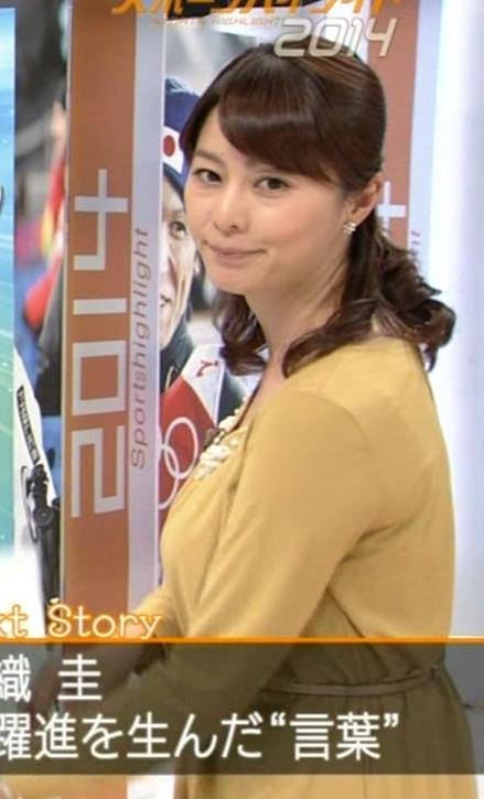 杉浦友紀 ゆったりした服を着ても隠せない爆乳キャプ・エロ画像9