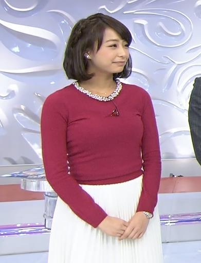 宇垣美里 巨乳キャプ・エロ画像3