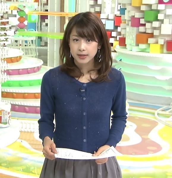 加藤綾子 衣装キャプ・エロ画像2