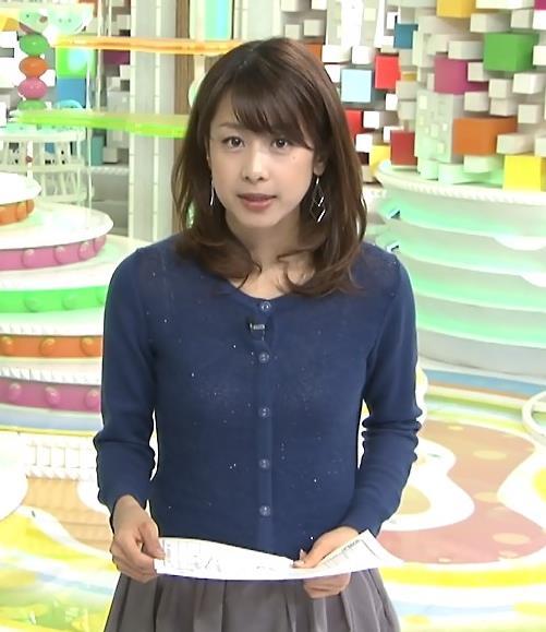 加藤綾子 衣装キャプ・エロ画像3
