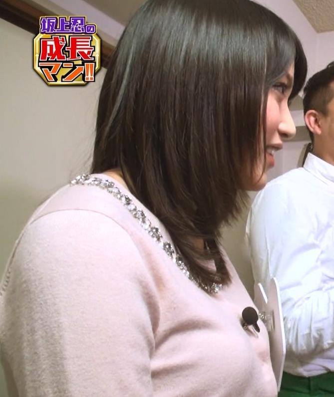 竹内由恵 横乳キャプ・エロ画像3