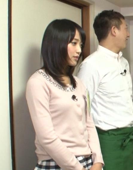 竹内由恵 横乳キャプ・エロ画像5