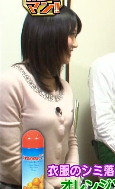 竹内由恵 横乳キャプ・エロ画像7
