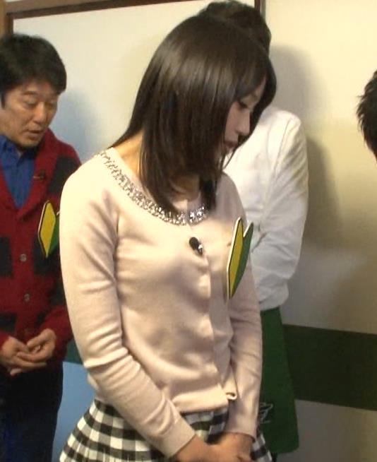 竹内由恵 横乳キャプ・エロ画像9