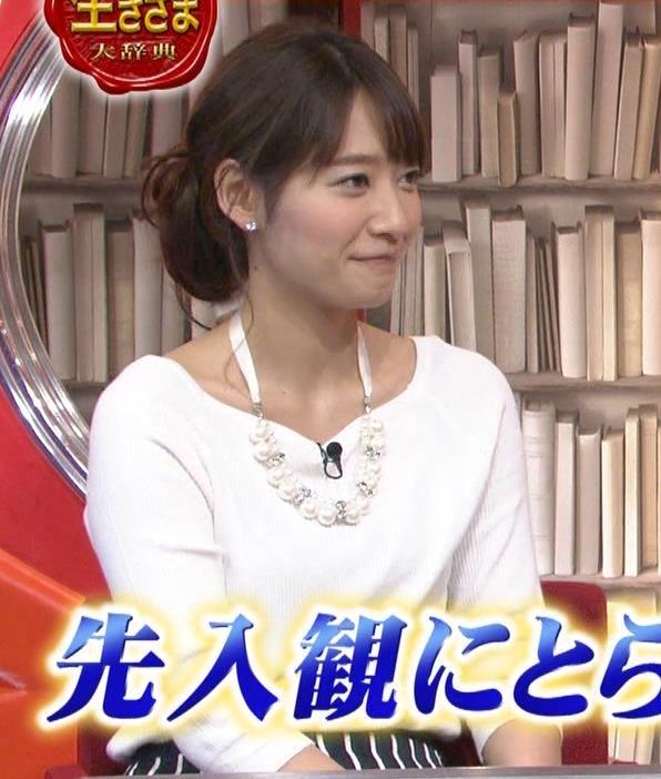 吉田明世 白い長袖キャプ・エロ画像3