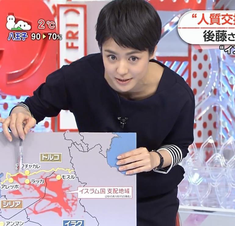 夏目三久 鎖骨キャプ・エロ画像3