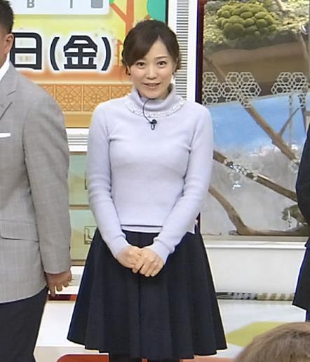江藤愛 下に着ているものが透けてるキャプ・エロ画像3