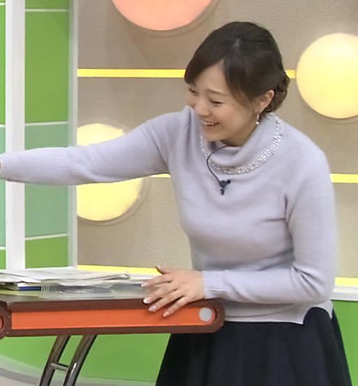 江藤愛 下に着ているものが透けてるキャプ・エロ画像5