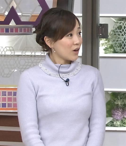 江藤愛 下に着ているものが透けてるキャプ・エロ画像8