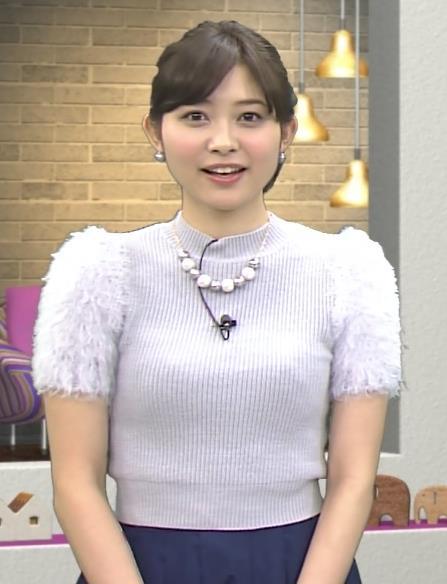 久冨慶子 セーターキャプ・エロ画像2