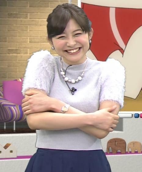 久冨慶子 セーターキャプ・エロ画像3