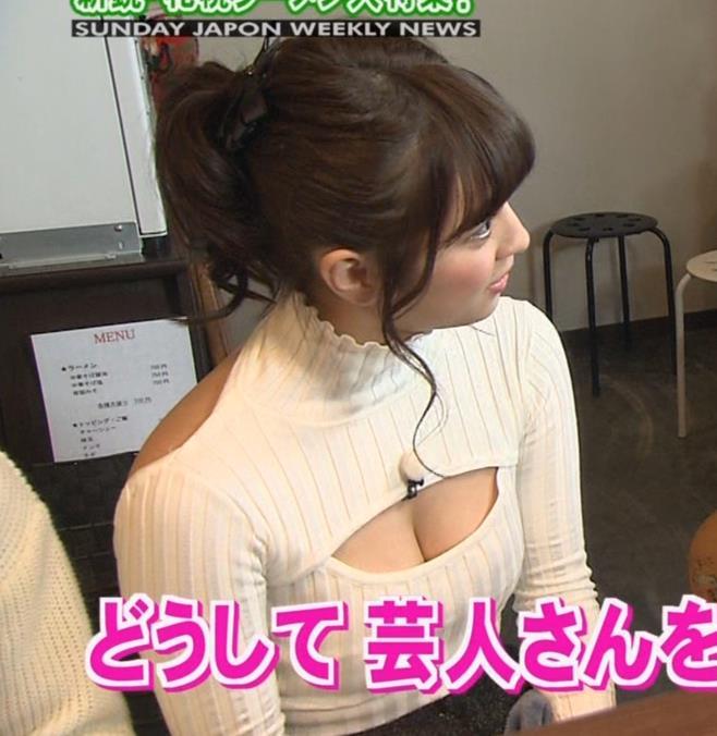 柳ゆり菜 セーターキャプ・エロ画像7