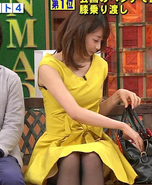 加藤綾子 スカートキャプ・エロ画像2