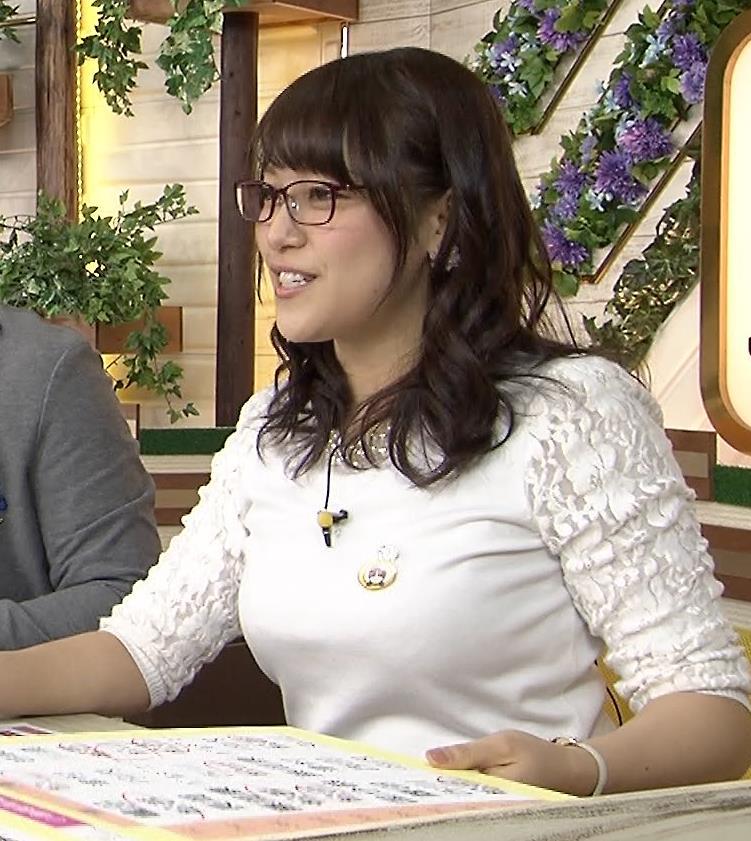 鷲見玲奈 おっぱいキャプ・エロ画像3