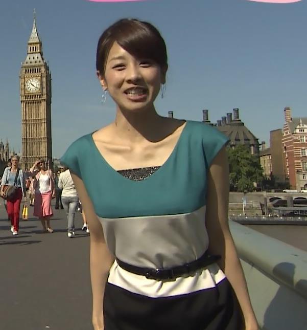 加藤綾子 露出キャプ・エロ画像2