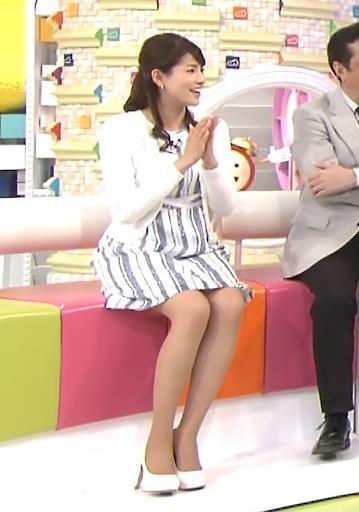 永島優美 太ももキャプ・エロ画像2