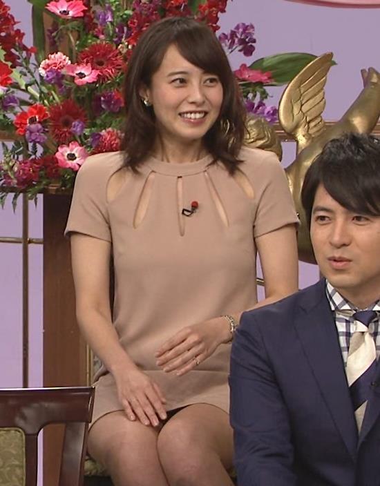 上田まりえ 太ももキャプ・エロ画像4