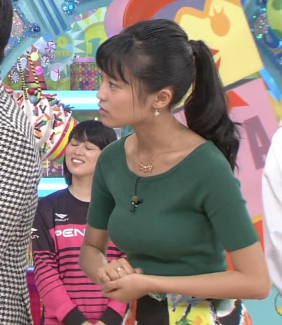 小島瑠璃子 おっぱいキャプ・エロ画像