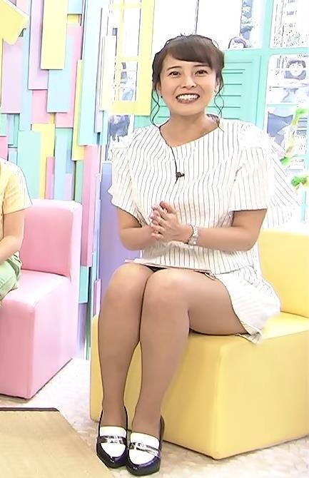 上田まりえ 太ももキャプ・エロ画像5