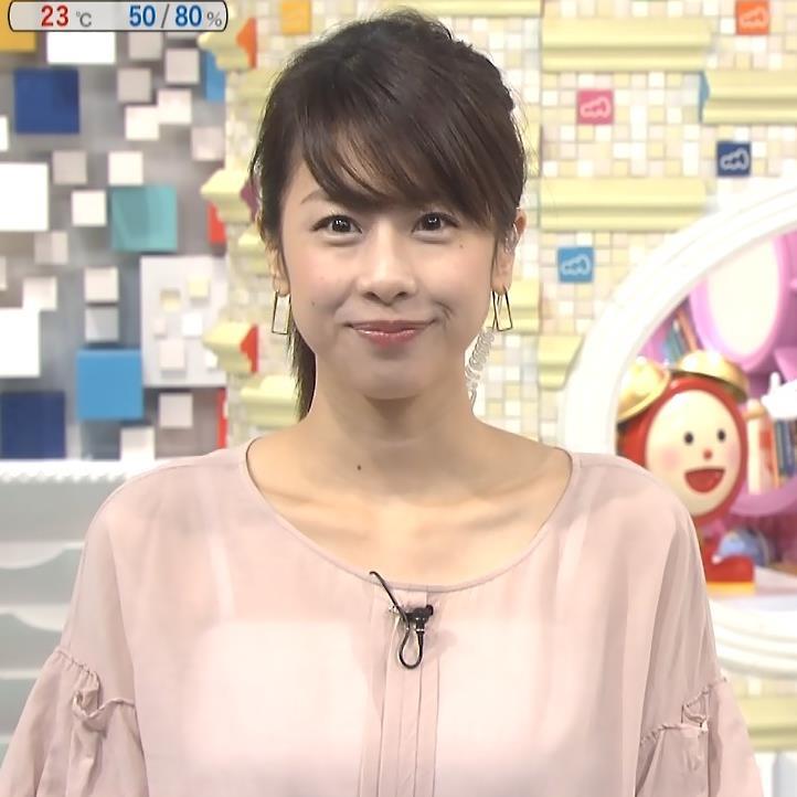加藤綾子 いい透け感キャプ・エロ画像