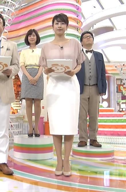 加藤綾子 いい透け感キャプ・エロ画像2