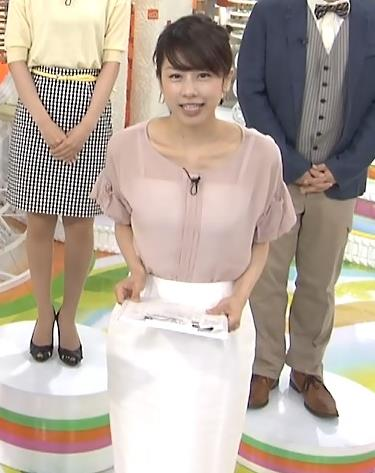 加藤綾子 いい透け感キャプ・エロ画像3