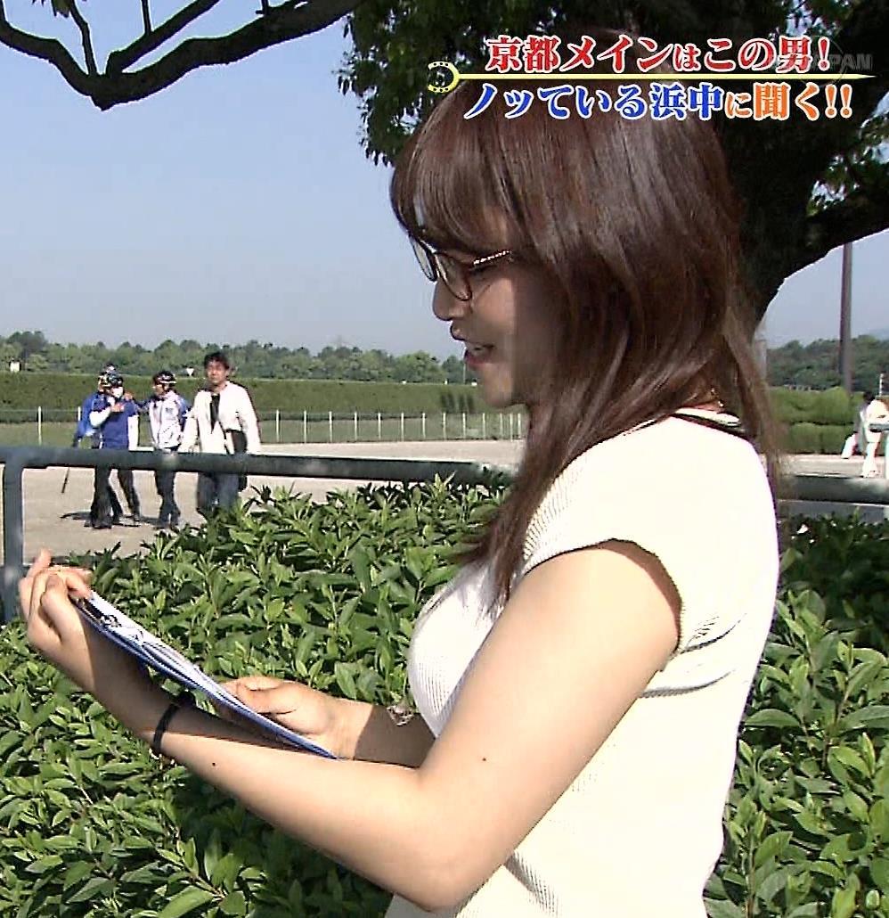 鷲見玲奈 横乳キャプ・エロ画像6