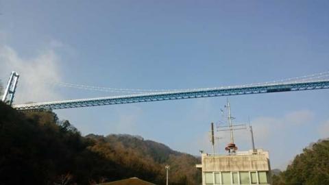 ダム事務所からの大橋