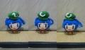今回は帽子の模様を統一しました