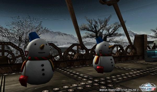 クリスマスのために凍土