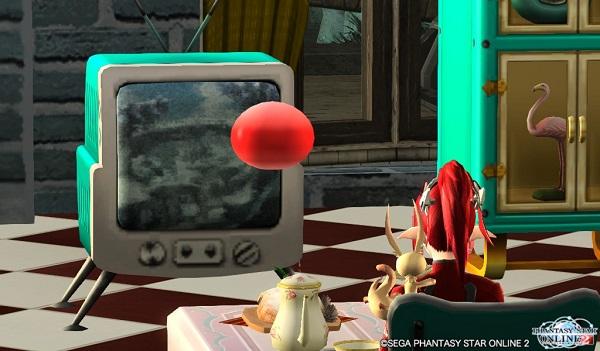 自分の部屋でTVを見る