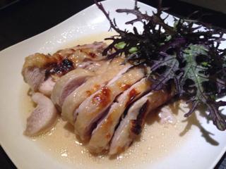 京都・飯尾醸造の富士酢でマリネした大山鶏のロースト