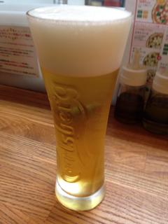 生ビール(カールスバーグ)