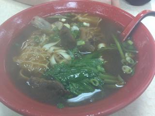 三合一牛肉麺