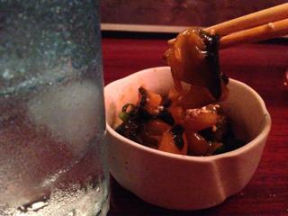 なんとか貝のウニの塩辛