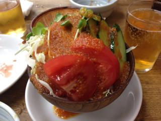 生野菜サラダ(ハーフ)