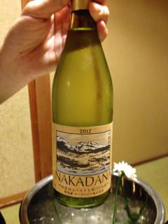 宿オリジナルワイン
