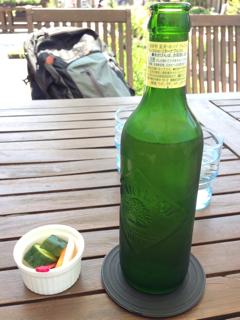 ハートランドビールとピクルス