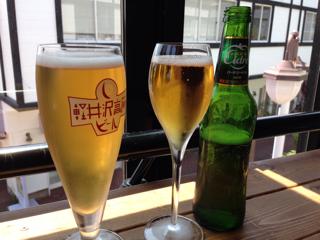軽井沢高原ビールとハードシードル