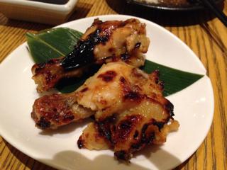 熟成地鶏手羽元の西京焼き