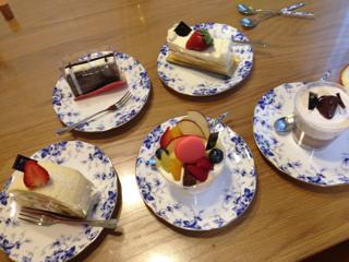 Patrisserie IKEDAYAMAのケーキ