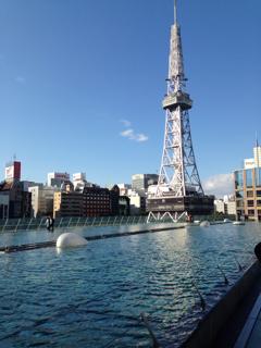 名古屋TV塔(水の宇宙船から)
