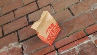ドムドムハンバーガー期間限定チーズフォンデュバーガー 5